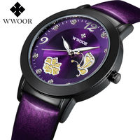 Top Brand Women Watches Fashion Quartz Watch Genuine Leather Montre Femme Casual Dress Watch Ladies Wrist