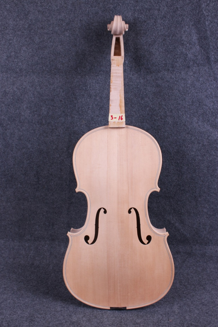 1 pcs 16.5  unfinished viola Flame maple Russian spruce top White  viola  Body#3-16 # tongling handmade antique viola maple wood nature flamed matt viola w case bow rosin strings stringed instruments 15 16