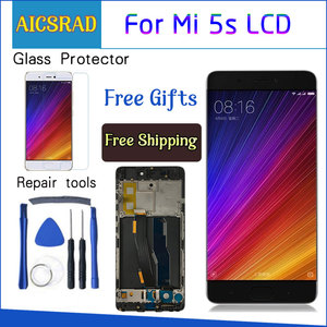 AICSRAD New LCD Display For Xiaomi MI 5s Mi5s M5s Touch Screen Digitizer Assembly + Frame For Xiaomi MI5s 5.15