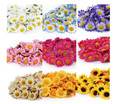 100Pcs Artificial Gerbera Daisy Silk Flowers Heads For DIY Wedding Party AE01488