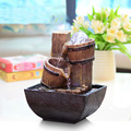 Feng Shui decoration small fountain water wheel Home Furnishing Decor lucky decoration creative desktop office