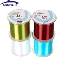 Dndyuju 500m Super Strong Fishing Line Daiwa Nylon Monofilament Fishing Line 2LB-35LB 4 Colors