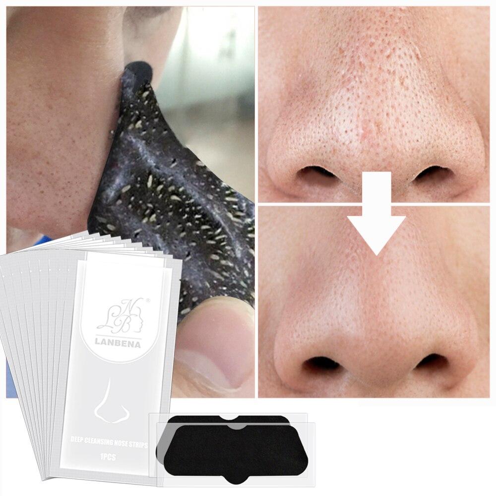Poren Maske Schwarz