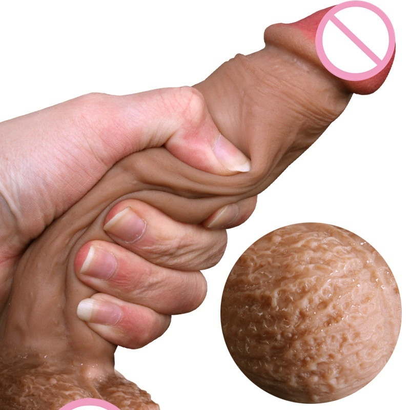 Real Skin Feel Silicone Soft Dildo Suction Cup Realistic Penis Big Dick Sex Toys For Woman Products Strapon Dildos For Women
