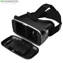 VR SHINECON 3D Glasses Virtual Reality VR Box + Wireless Bluetooth Gamepad For 3.5-6.0 Inch phone Android Smartphone