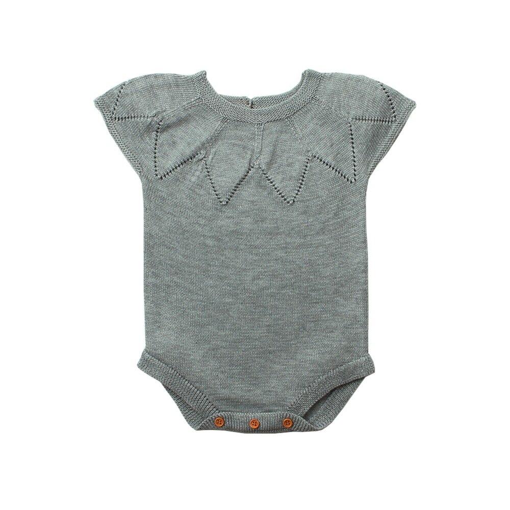 Body dla kobiet Baby body z krótkim rękawem Baby Girl Summer - Odzież dla niemowląt - Zdjęcie 2