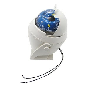 Image 3 - Bianco ABS LED Ad Alta Precisione Elettronico Della Luce Del Veicolo Auto Bussola di Navigazione Sea Marine Militare Auto Barca Nave Bussola VENDITA CALDA
