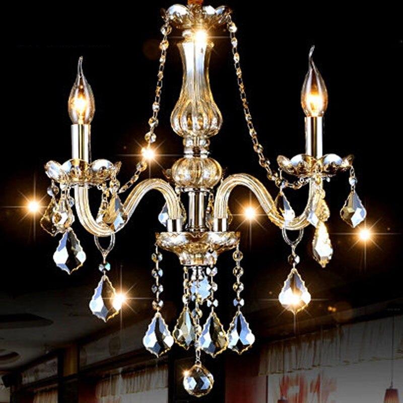 Bedroom Kitchen Chandelier Novelty Lighting lustres de sala for home decorate modern large crystal chandelier lamps lights Avize