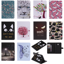 Luxury Horse Print Leather Magnetic Flip Wallet Tablet Case Cover Coque Funda For Samsung Galaxy Tab A 8.0