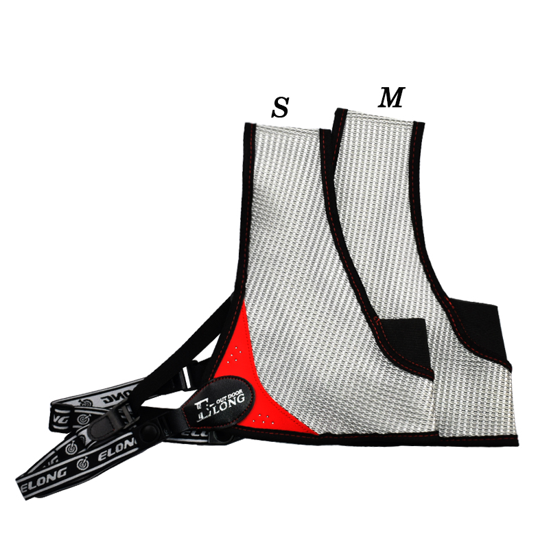 Adjustable Nylon Mesh Archery Chest Protector Guard Shooting Compound Bow