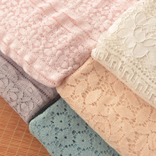 140-160cm*50cm Embroidery jacquard striped water-soluble lace cloth bottom shirt clothing dress Fabric