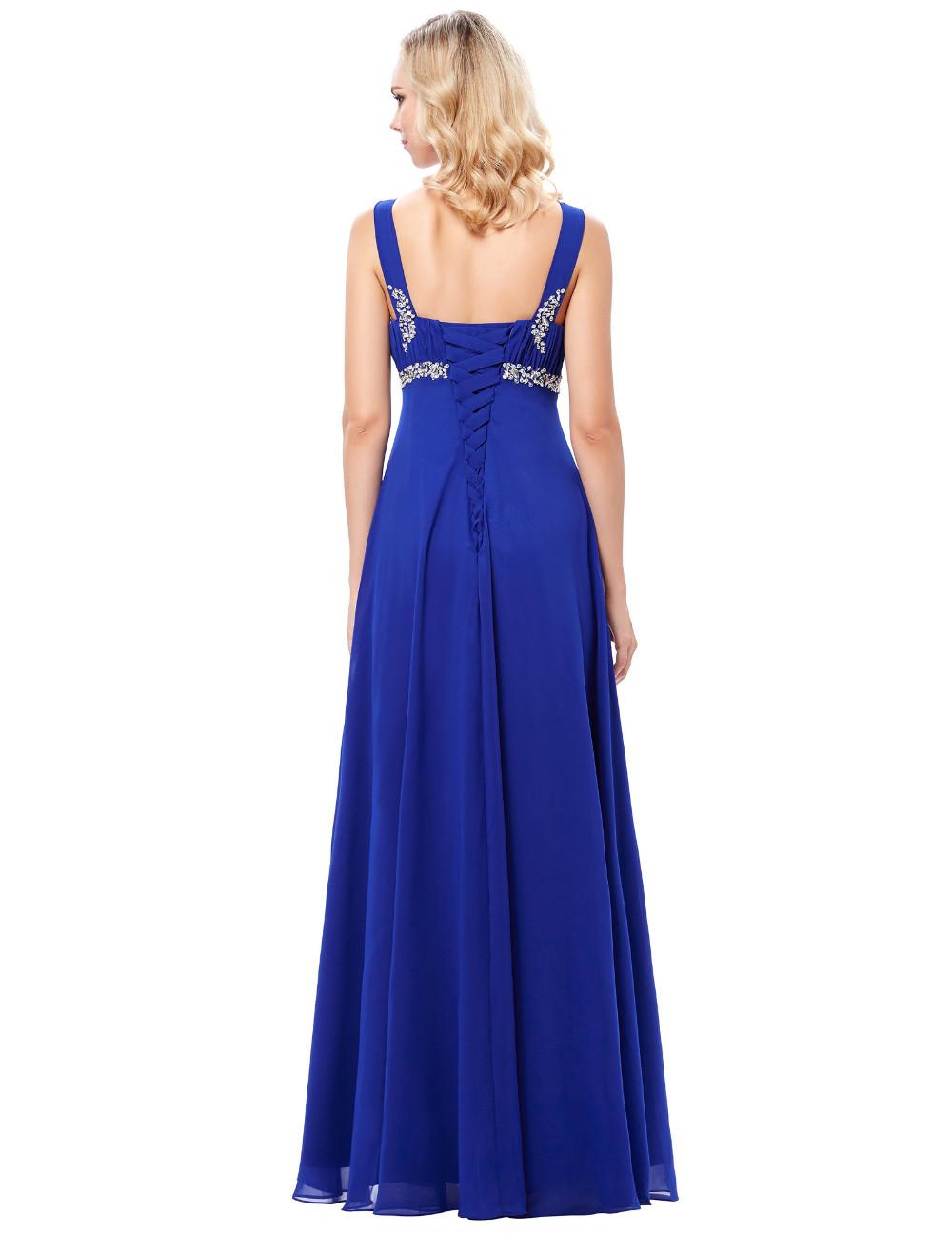HTB1uEHVOFXXXXaqapXXq6xXFXXX2Long Formal Dress Elegant Floor Length Chiffon Dress