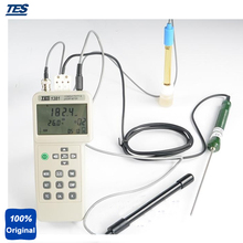 Wholesale prices TES-1381 Portable Measure PH MV Conductivity TDS Resistivity Salinity Concentration and Temperature Meter Measurement Functions