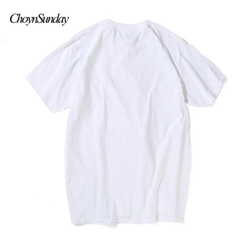 ChoynSunday Creative T-shirts Män Sommar Bomull Kortärmad Toppar - Herrkläder