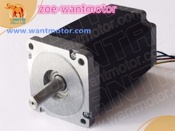 High Quality!Nema 34 Wantai Stepper Motor 85BYGH450C-012 1600oz-in 3.5A CE ROHS ISO Foam Router Grind Engraver Laser