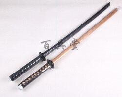 Gute qualität Kendo Shinai Bokken Holz Schwert Messer tsuba, katana nihontou fechten ausbildung Cosplay COS ausbildung schwerter