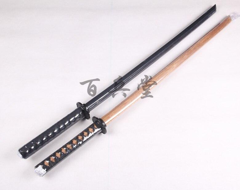 40/'/' Red Burgundy Bokken Daito Wooden Practice Katana Samurai Sword w Hand Guard