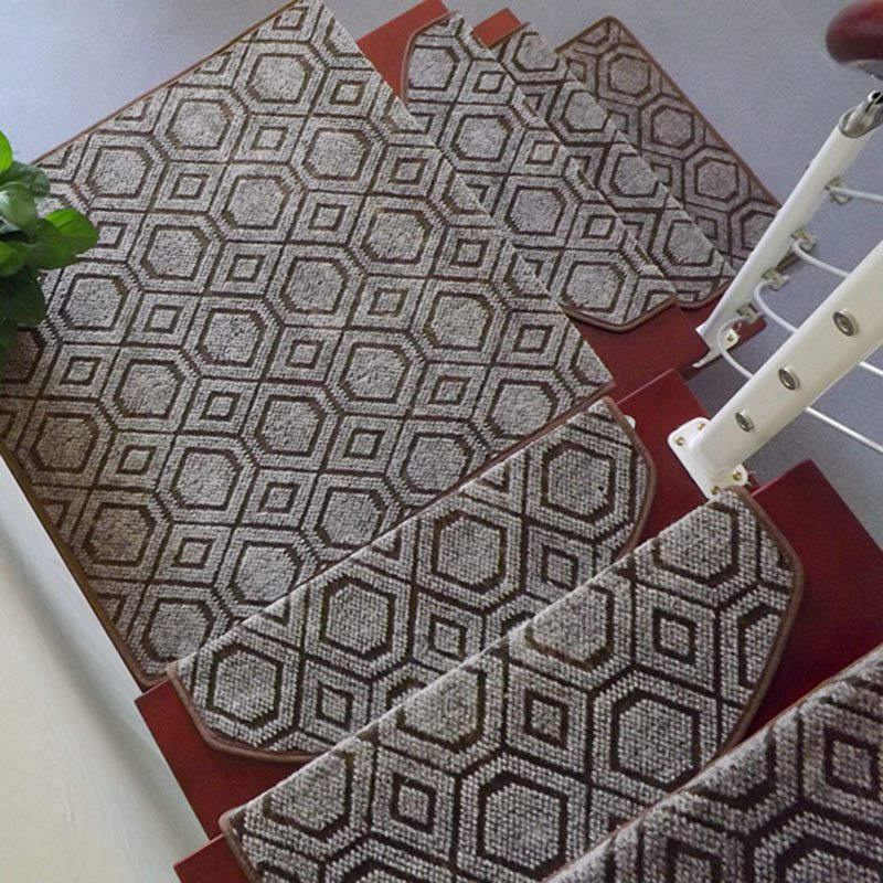 Top Sale 1 Piece European Style Stair Treads Staircase Carpets Home Decor Rugs For Stairs Living