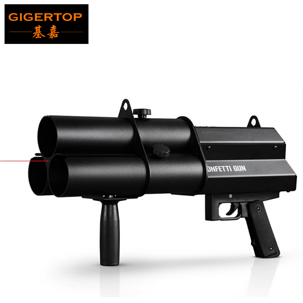 3 Heads Confetti Gun / FX Confetti Gun For Celebrations,Weddings,Openings Professional DJ Confetti Gun Stage Effect Machine3 Heads Confetti Gun / FX Confetti Gun For Celebrations,Weddings,Openings Professional DJ Confetti Gun Stage Effect Machine