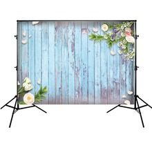 Get more info on the Backdrop Wood Floor Newborn Baby Shower Photo Background Wedding Backdrop Flowers Spring Photography Backdrops Vinyl Photophone