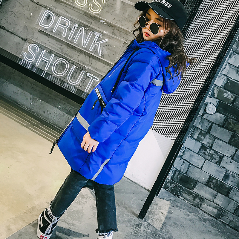 fashion girl winter down Jackets children long coat 100% duck down thick girls coats down warm outerwears for 4-12 years kids ywst2017 fashion girl s down jackets coats winter russia baby coats thick duck warm jacket children outerwears 30degree jackets