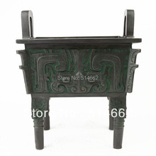 FENGSHUI CHINO ANTIGUO DING BRONCE Esculturas/DING CHINO ESTATUAS/DING ESTATUAS