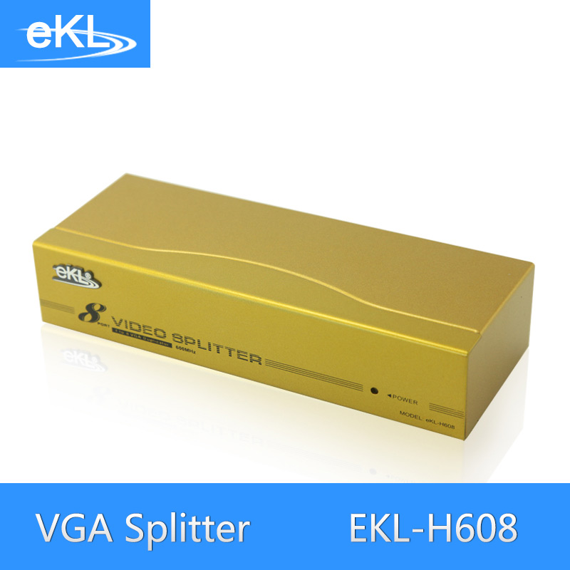 все цены на EKL 8 Port VGA Splitter Metal 600MHz High Frequency 1 In 8 Out VGA Distributor онлайн