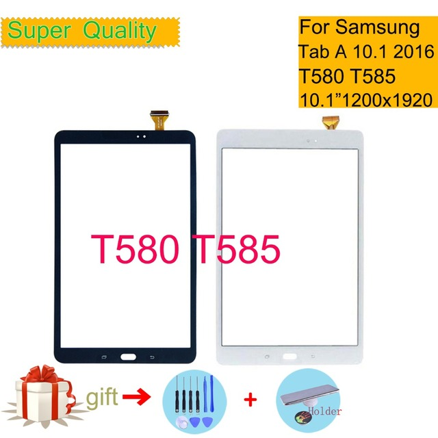 Original For Samsung Galaxy Tab A 10.1 2016 T580 T585 SM-T580 SM-T585 Touch Screen Digitizer Sensor Panel Tablet Replacement