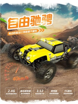 "HBX 12891 Thruster RC Car 1/12 2.4G 4WD Waterproof Hydraulic Damper RC Desert Buggy Truck with LED Ligh ""VS"" WL A959-B A979-B"