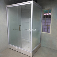 wx9001 Home Shower Room High quality Rectangular One piece Shower Enclosure Shower Cabins Integrated Bathroom Shower Room 220V