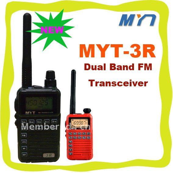 New Arrival MYT-3R UHF:400-470MHz RX And TX, VHF RX FM Transceiver