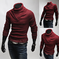 Free shipping 2015 Spring Autumn the new stripe design Men's fashion, cultivate one's morality type v-neck pullovers