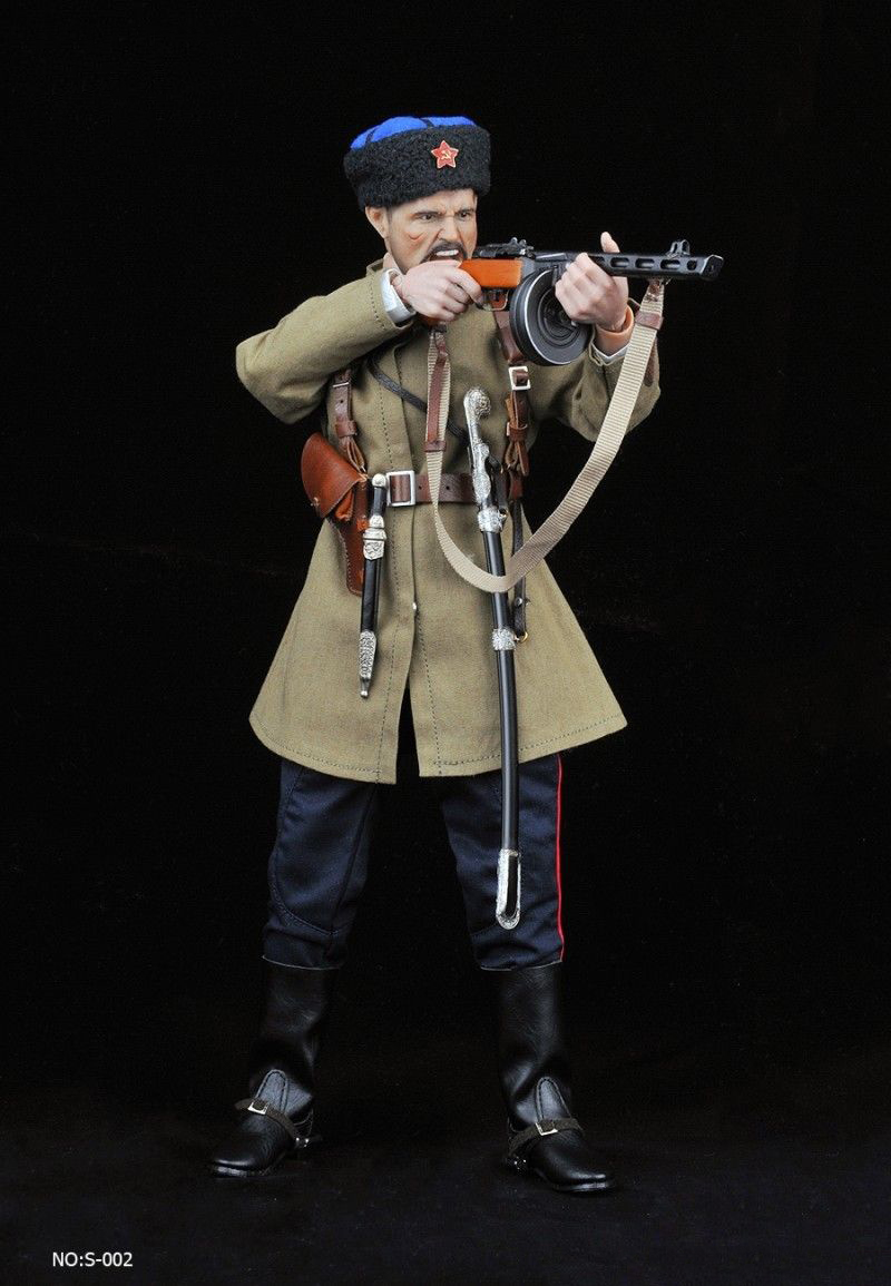 """Alert Line 1//6 AL100023 WWII 1942 Red Army Officer Costume Fit 12/"""" Figure Body"""