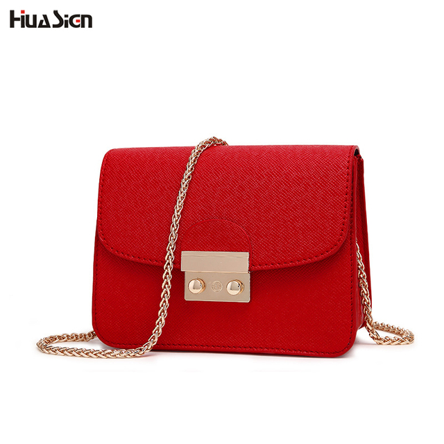 Mini Flap Bag Crossbody Bags Women Shoulder Messenger Bag Metal Lock Chain Handbags  Purse Ladies Small Clutches Bag 664191cb62