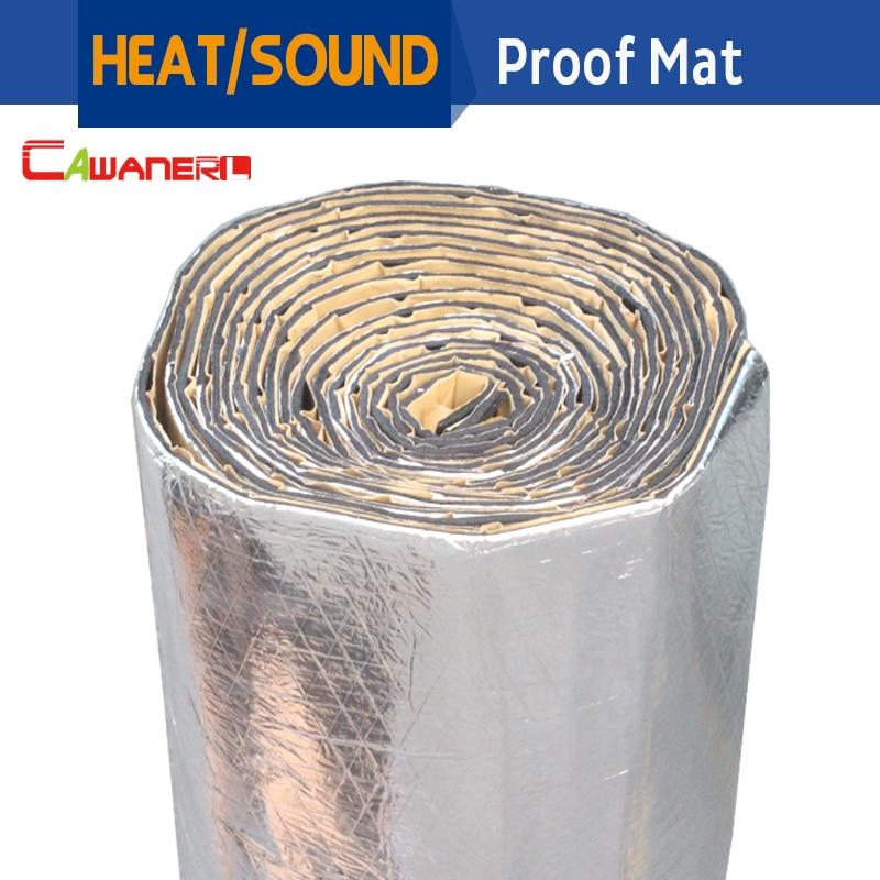 Cawanerl 1 Roll 1000CM X 100CM Car Truck Heat Sound Insulation Mat Pad Noise Control Deadener
