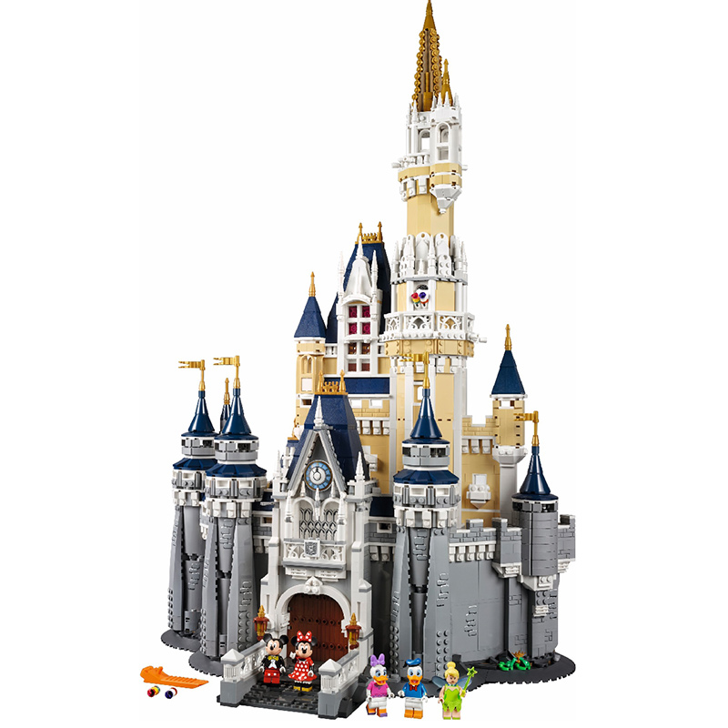 Lepin 16008 Cinderella Princess Castle City Model Building Block Kid Educational Toys For Children Gift Compatible 71040 lepine 16008 cinderella princess castle 4080pcs model building block toy children christmas gift compatible 71040 girl lepine