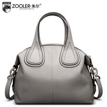2016 New zooler genuine leather women bag brands fashion Leisure top quality women leather handbags shoulder bag