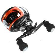 купить Baitcasting Fishing Reel 18BB 7.1:1 Bait Casting Right Hand Reel Magnetic Brake System Water Drop Wheel дешево