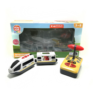 Image 5 - Free shipping Remote control electric magnetic link compatible BRIO wooden track white Harmony train and red worldwide train