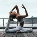 Moda Feminina Mulheres Leggings Ballet Dança Ms De Altura Da Cintura Das Mulheres Calças De Fitness Calças de Fitness