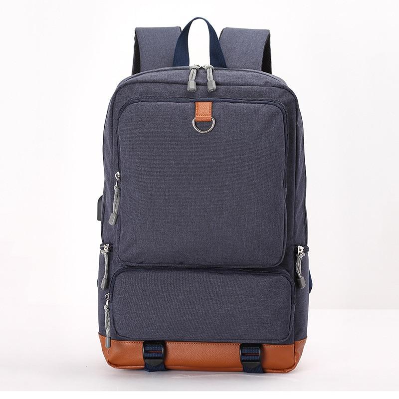 Men Backpack Men's laptop backpack computer school backpacks rucksacks women leisure travel bag for teenage boys girls mochila m