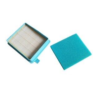 Image 3 - 2 bộ LÀM SẠCH BÚP BÊ Động Cơ foam Lọc cho máy hút bụi Philips PowerPro FC8630 8649 FC8058 FC9320 FC8470 FC8471 8479 HEPA