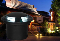 10pcs/lot LED Underground Lamps Buried Lighting For Outdoor 5w Floor Led IP67 Waterproof Spotlight For Garden Decoration Fanlive