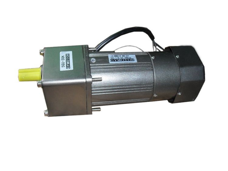 цена на AC 220V 120W Single phase regulated speed electromagnetic brake motor , AC gear motor with electromagnetic brake.