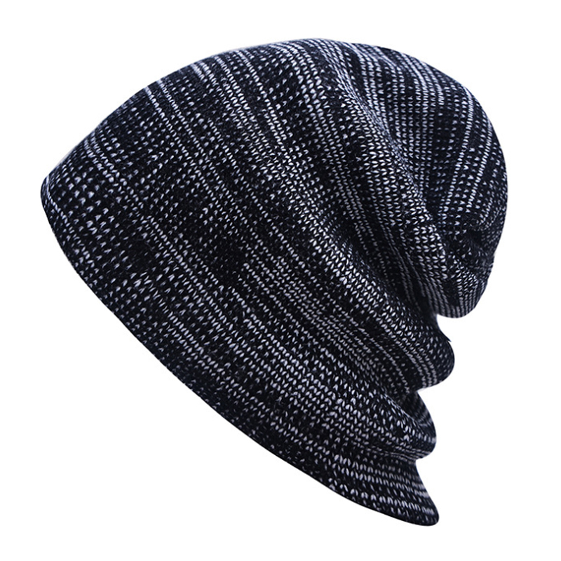 2017 Knit Winter Hat For Women Men Women's Knitted Brand Bonnet Hip Hop Warm Baggy Cap Wool Gorros Hat Female Skullies Beanies cosonic ct 760 stereo headphones w microphone black