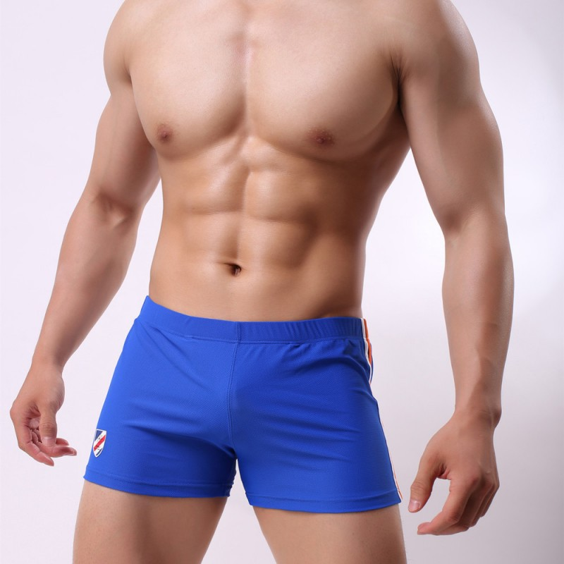 Sleep Bottoms Men's Casual Trousers Soft Comfortable Shorts Sexy Low Waist Male Pajamas Mens Home Sleepwear Convex U Pouch Boxer