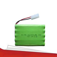 Cncool 12 V 2400 mAh ni-mh bateria 12 V RC batería NiMH pilas recargables 12 V paquete 10X AA tamaño Ni MH para la batería del juguete del coche del RC