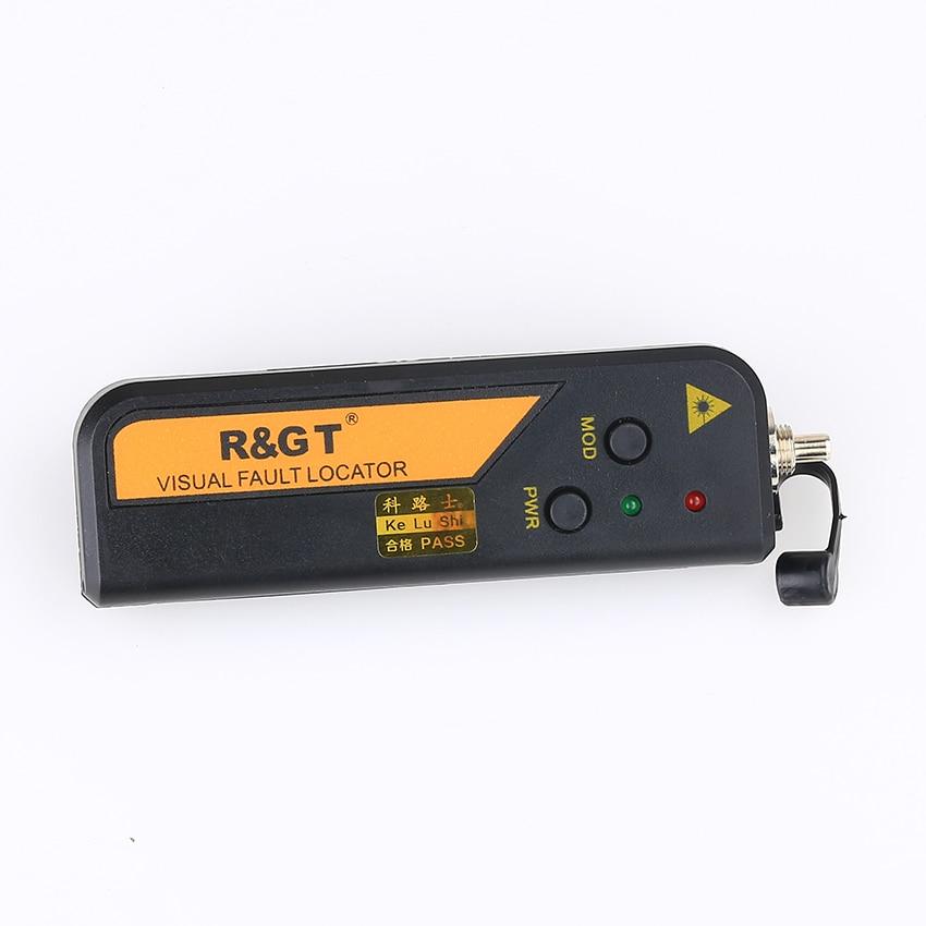 KELUSHI FTTH 20mW 15-20km checker Mini Type Fiber Optic Visual Fault Locator Red Laser Cable Tester testing tool
