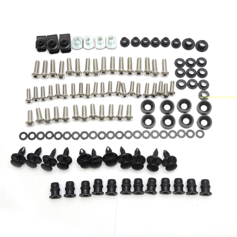 Complete Fairing Bolt nut screw Kit For HONDA CBR600RR CBR 600 RR 2003-2006 2003 2004 2005 2006 fairing bolt screw Accessories