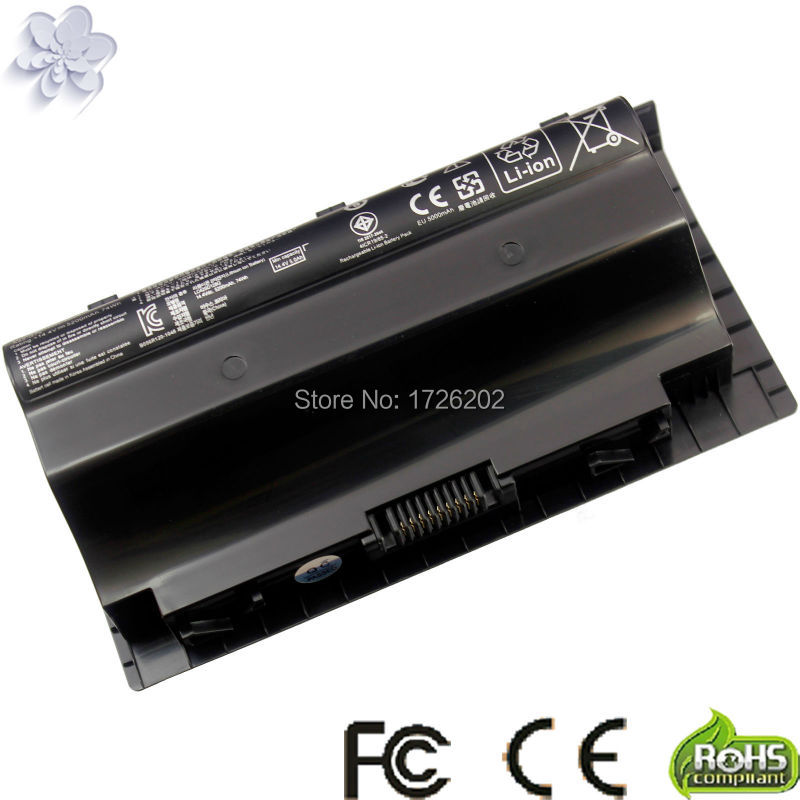 New 14.4V 5200mAh replace Laptop Battery A42-G75 For Asus G75V G75 3D G75VW 3D G75 G75VW G75V 3D Series black
